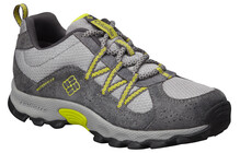 Columbia Youth Daybreaker Waterproof light grey/fresh kiwi